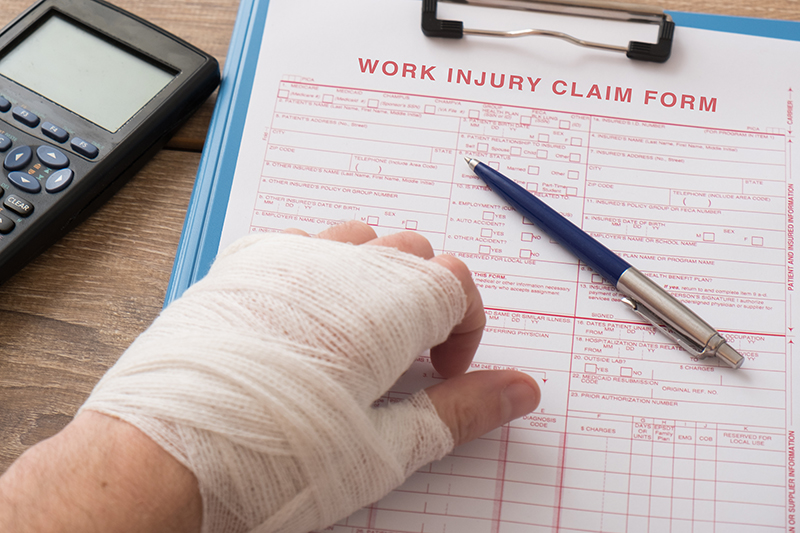 In a personal injury claim, what documents do I need to submit?
